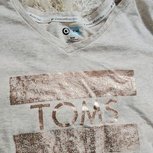 Toms Tops - TOMS | Cream Tee Shirt